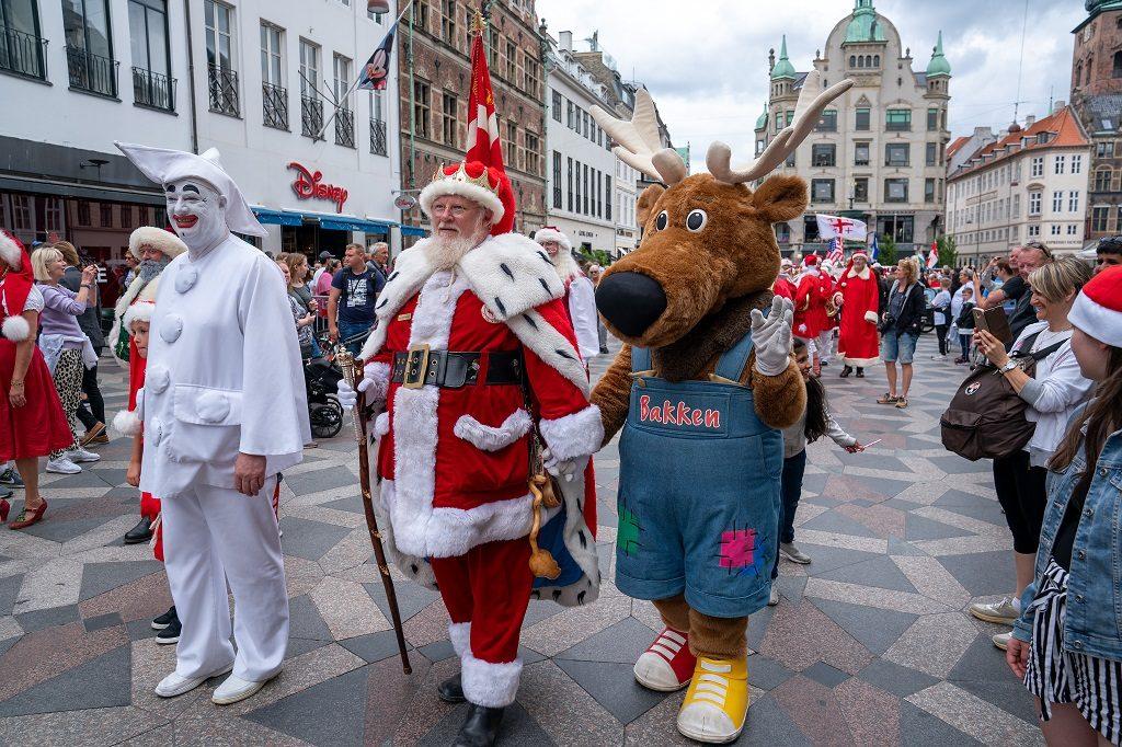 Конгресс Санта-Клаусов в Копенгагене