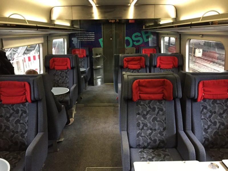 Скоростные поезда Дании