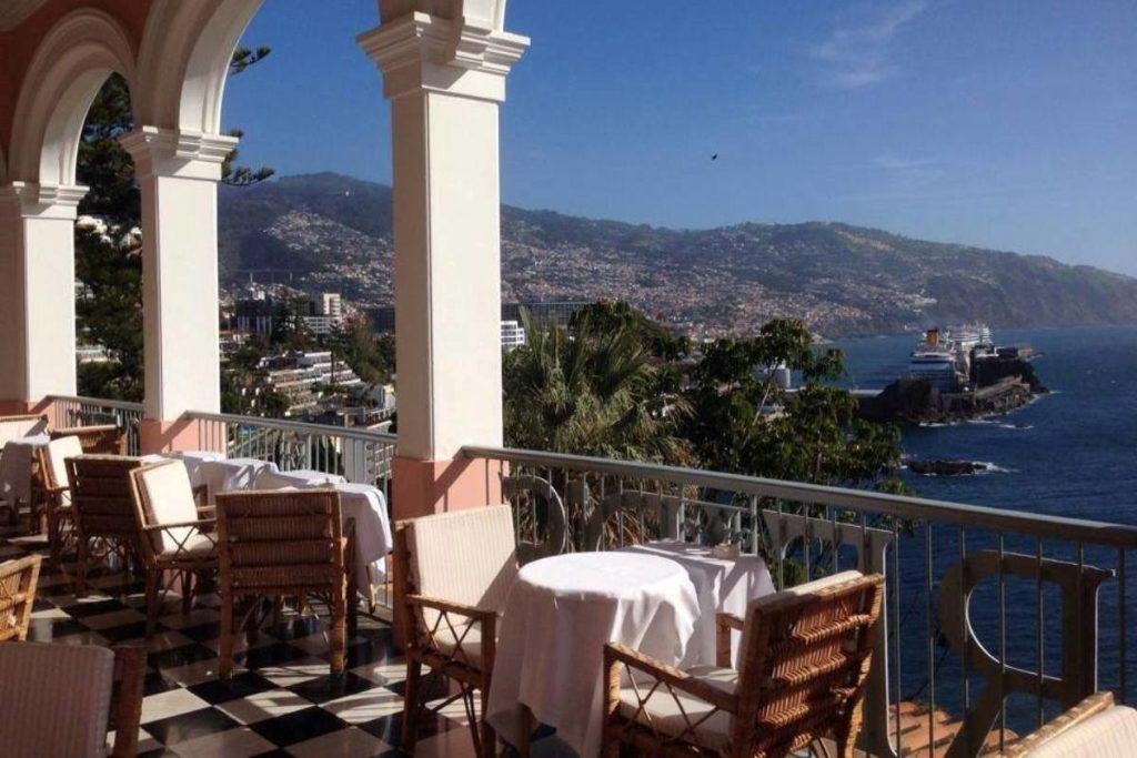Мадейра Tea Terrace at Reid's Palace