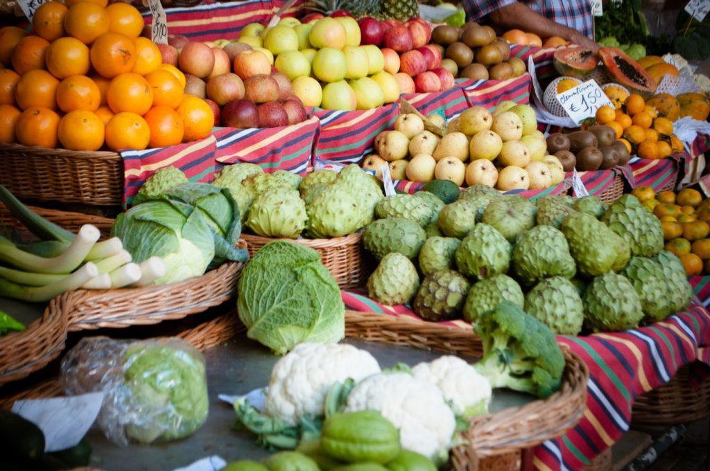 Рынок Mercado  dos Lavradores Мадейра