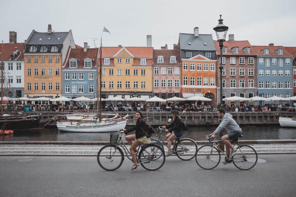 Копенгаген для детей - на велосипеде