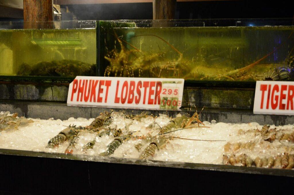 Рынок рыбный Пхукет
