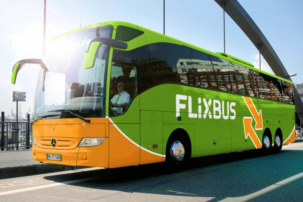 Дания транспорт - автобусы Flixbus