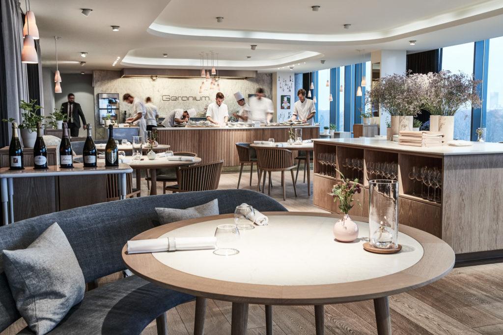 Рестораны Копенгагена - Ресторан Geranium