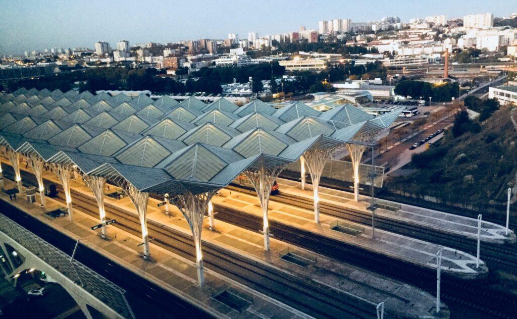Португалия Вокзал Ориенте