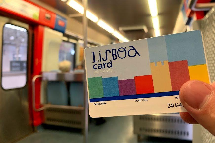 Проезд по Lisboa Card