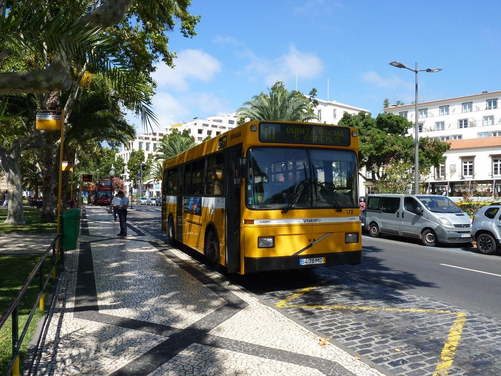 Автобус в Мадейра Португалия