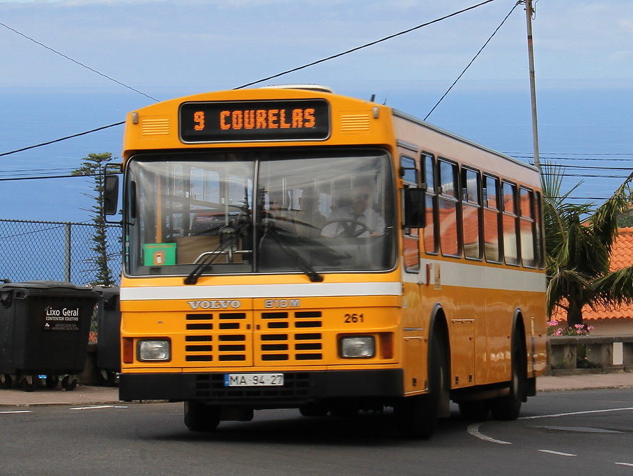 Автобусы на Мадейре