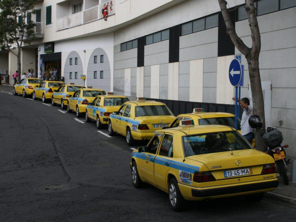 Такси в Мадейре