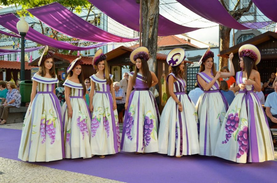 Фестиваль вин в Мадейре Португалия