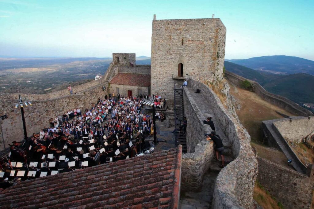 Фестиваль Marvao Португалия