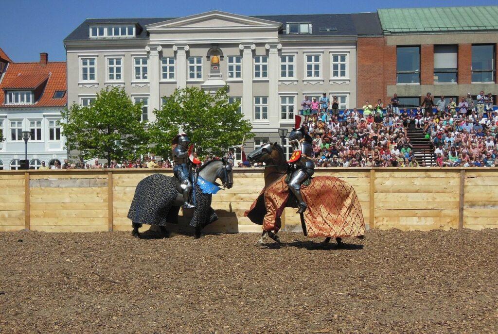 Средневековая ярмарка в Дании
