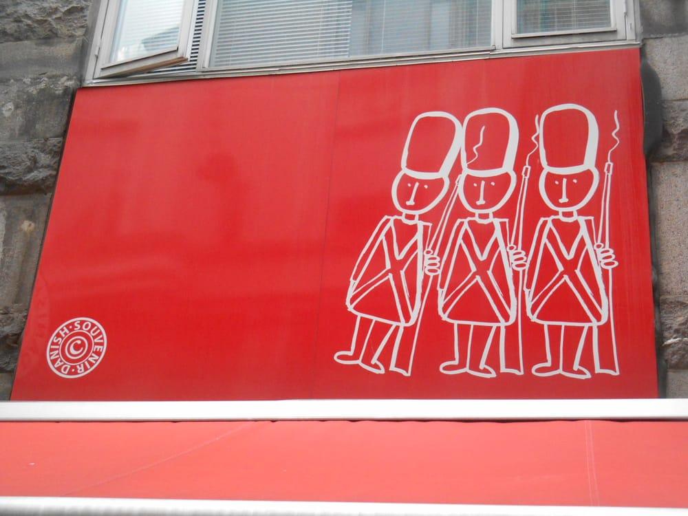 Магазин сувениров Danish Souvenir в Копенгагене