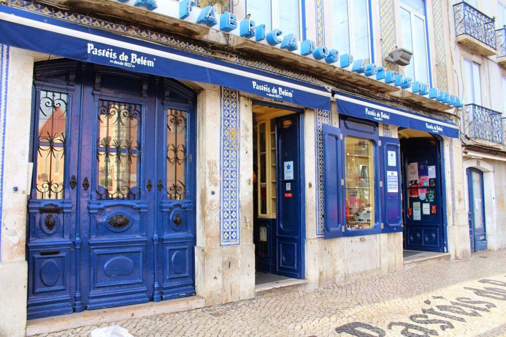 Кондитерская Pasteis de Belem Лиссабон еда