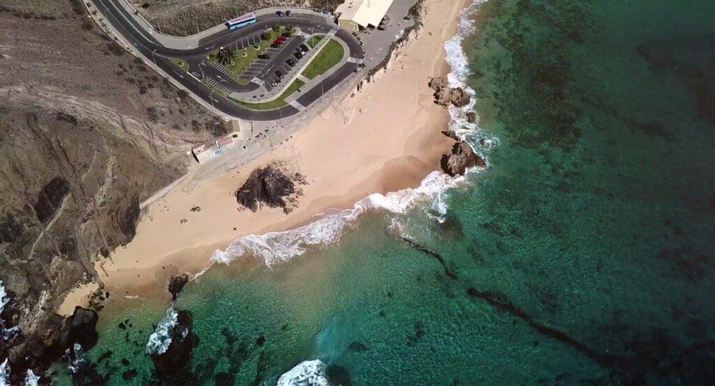 Пляж Ponta Da Calheta Мадейра