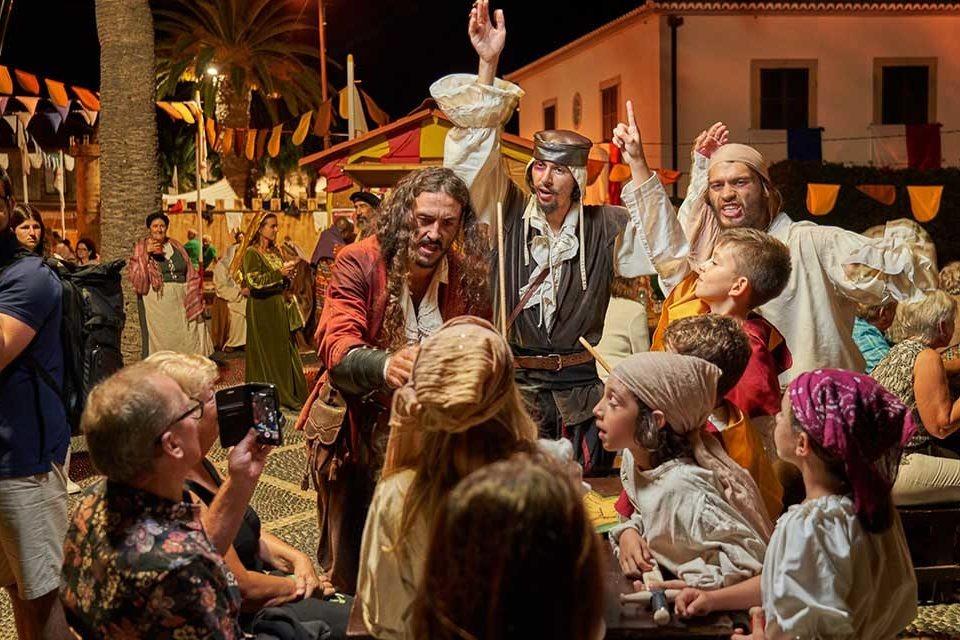 Фестиваль Колумба в Порту-Санту Португалия