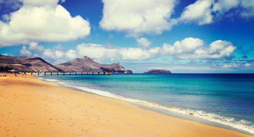 Остров Порту-Санту Мадейра