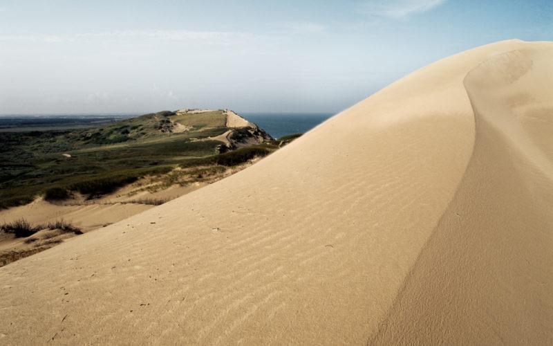 Детский отдых в Дании - Мигрирующая песчаная дюна