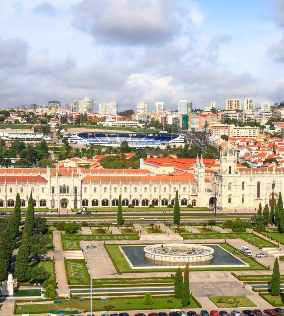 Лиссабон: районы