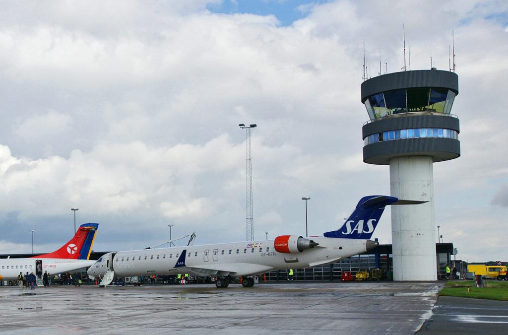 Аэропорт Roskilde в Копенгагене