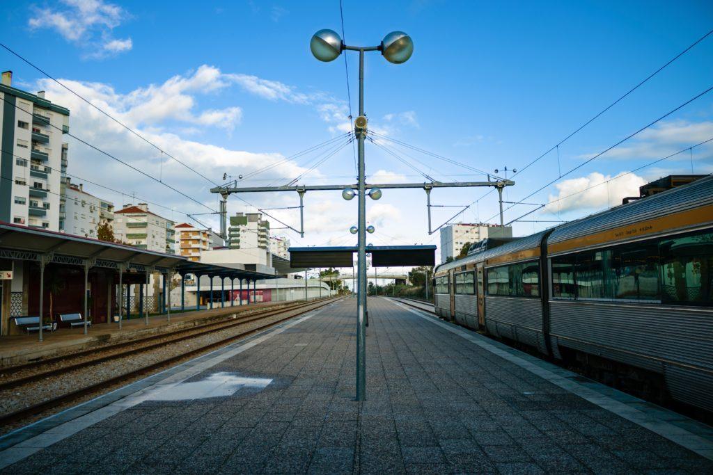 Жд вокзал Португалии