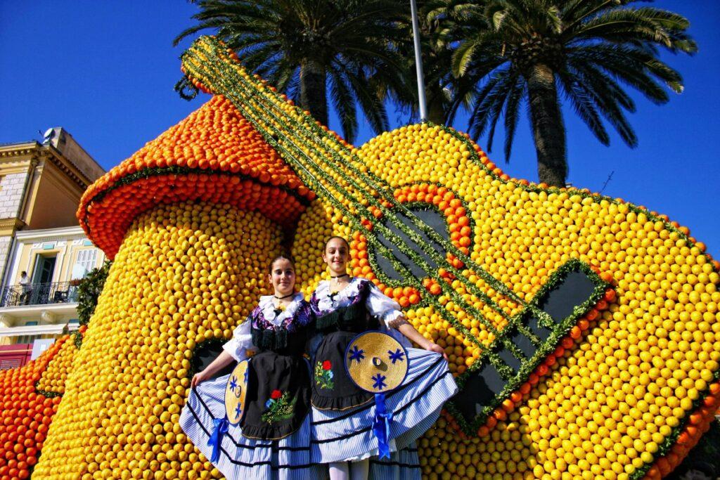 Фестиваль лимонов в Португалии