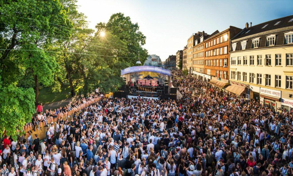 Фестиваль музыки в Дании - Distortion