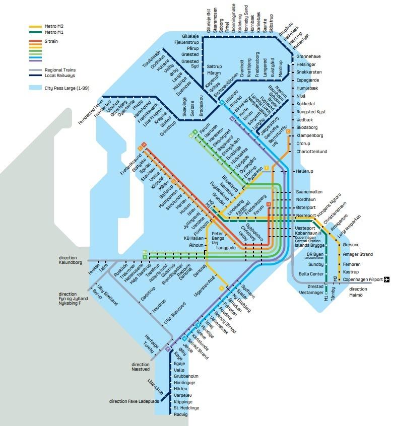 City Pass Large Копенгаген