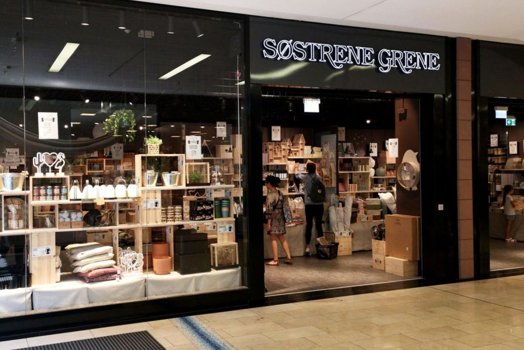 Магазин Søstrene Grene Копенгаген