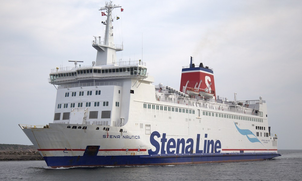 Паром Stena Nautica в Дании
