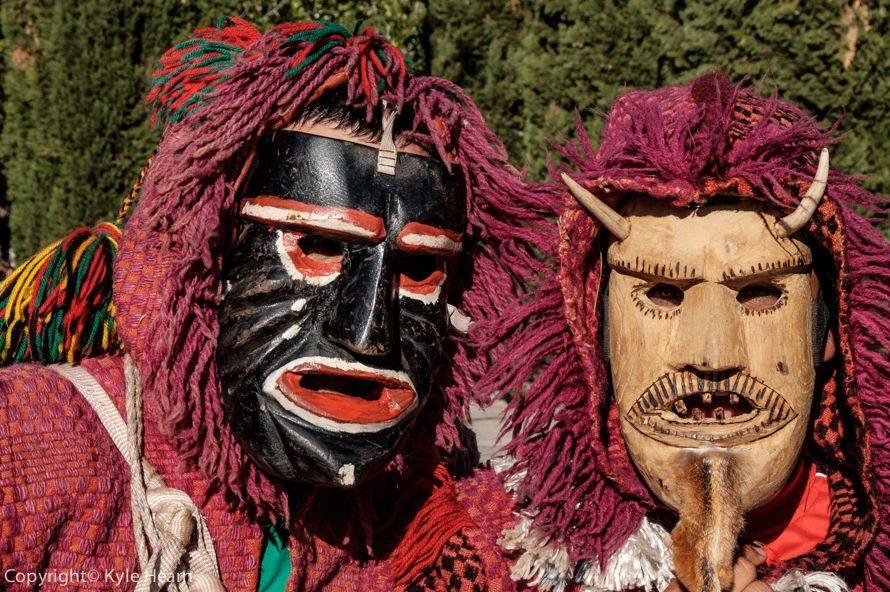 Фестиваль масок в Португалии