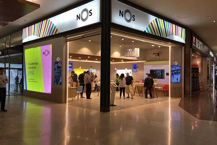 Магазин NOS