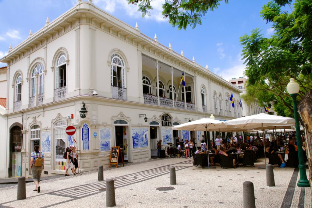 Кафе the Ritz Мадейра