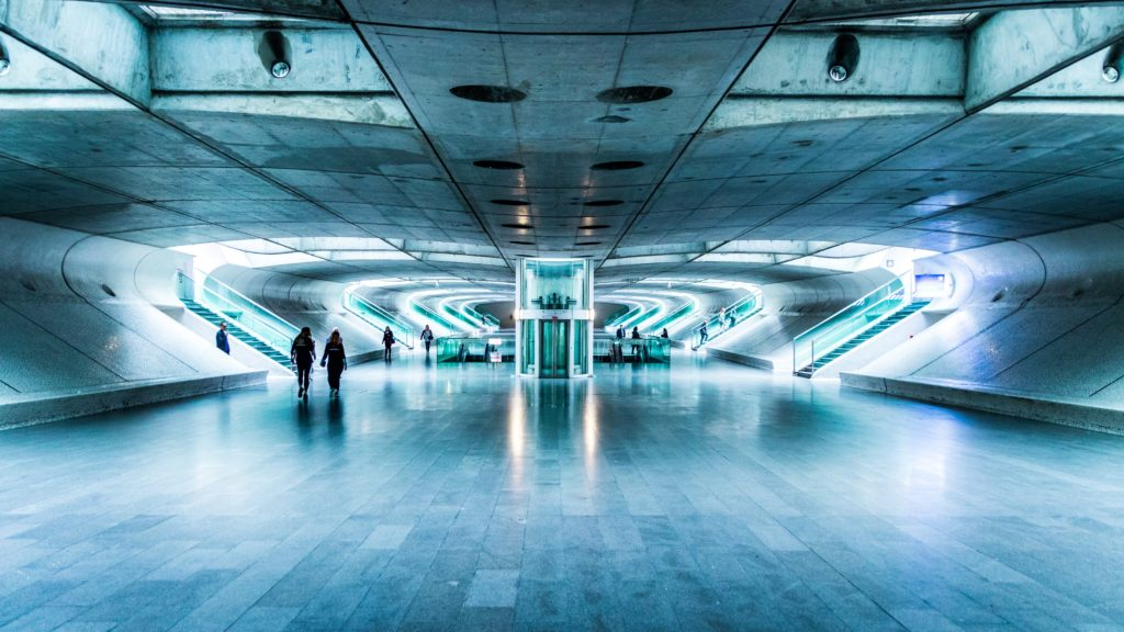 Вокзал в Лиссабоне Португалия