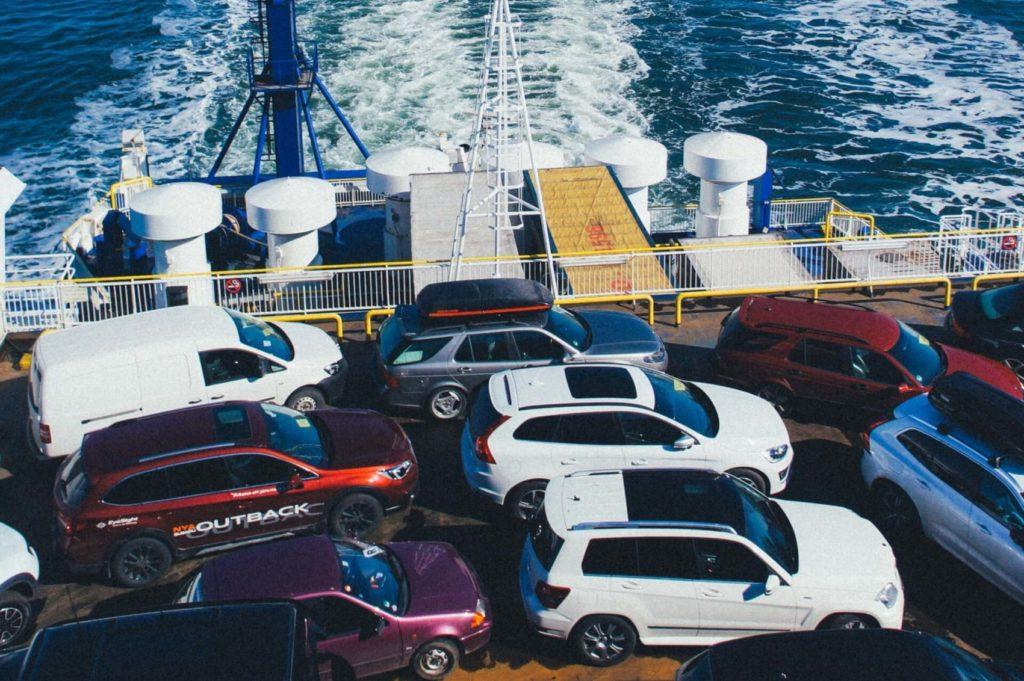 Паромы - морской транспорт Дании