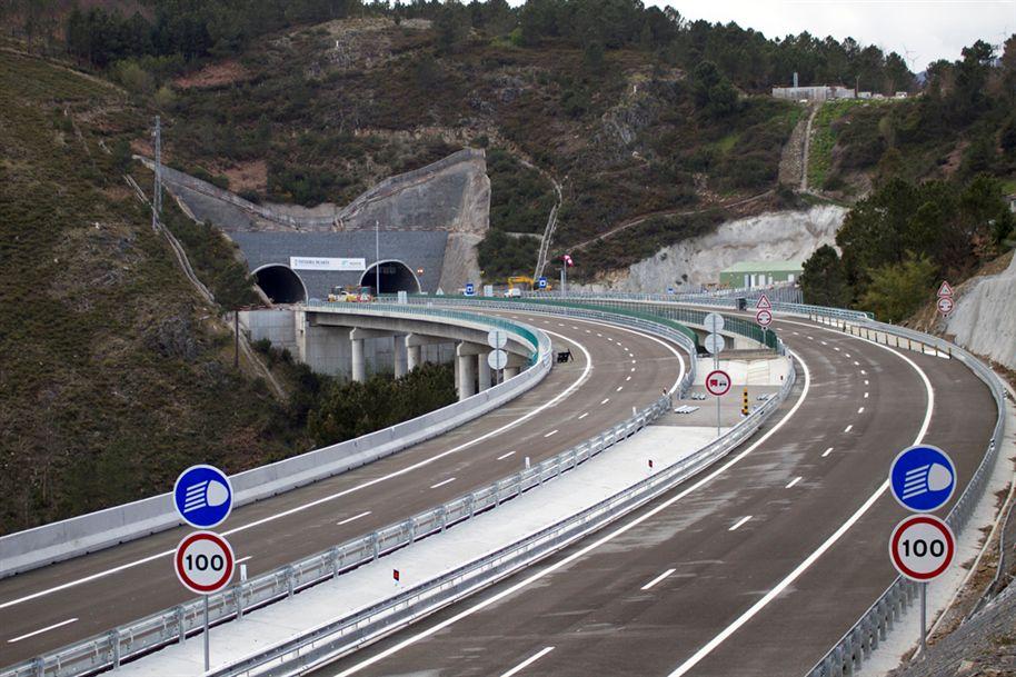 Тоннель в Португалии