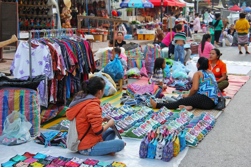 Рынок выходного дня Нака Маркет Пхукет