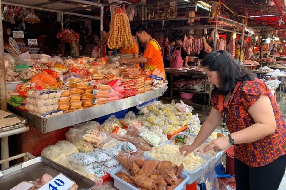 Продуктовый рынок Klong Toey Fresh Market