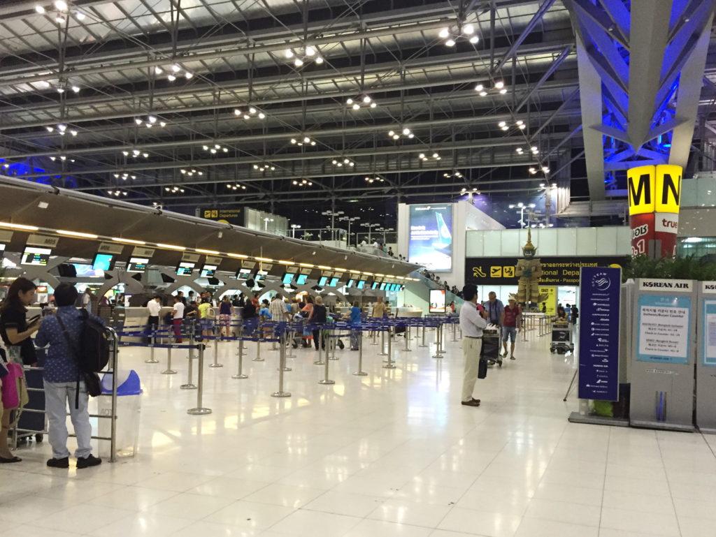 Залы аэропорта в Бангкоке
