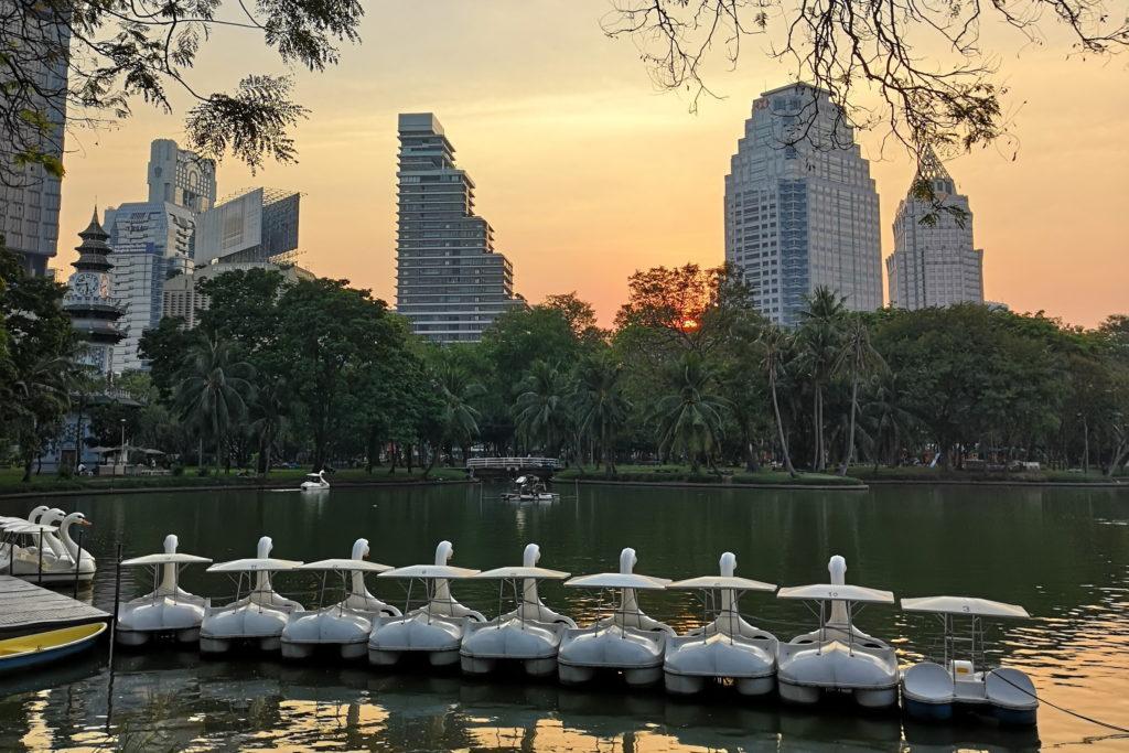 Местный «оазис» Бангкок