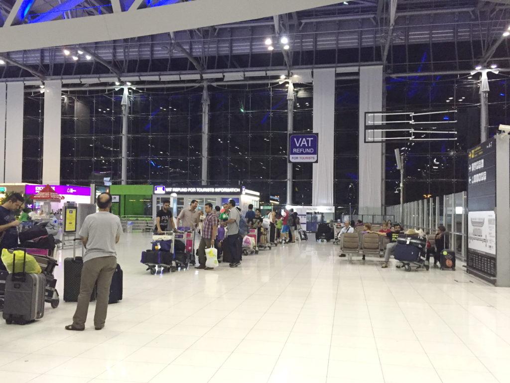 Vat Refund в аэропортах Бангкока