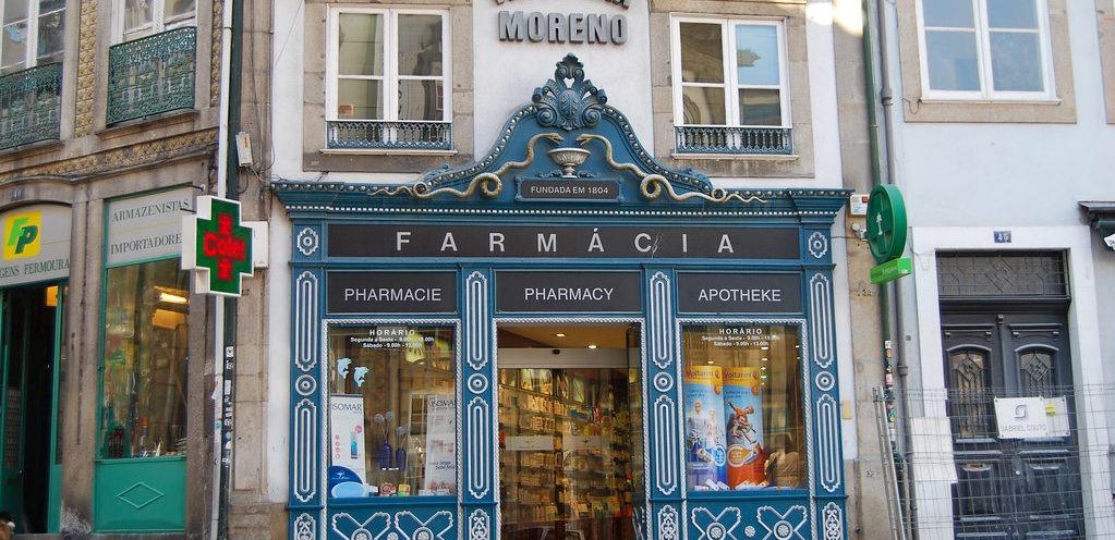 Аптека в Португалии
