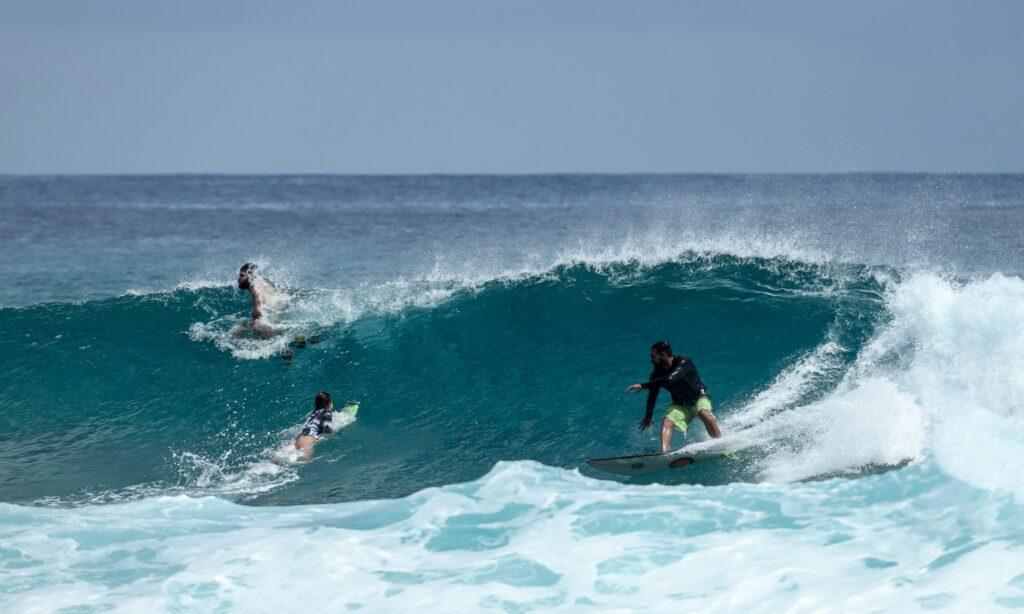Тренировка по серфингу