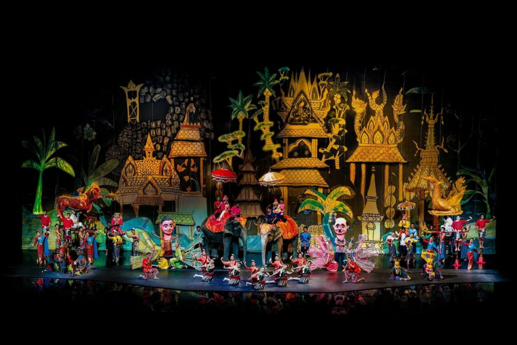 Шоу Сиам Нирамит в Бангкоке