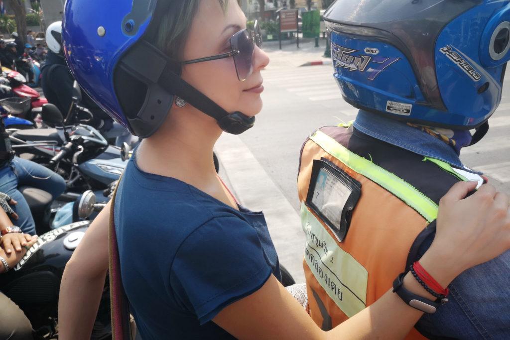 Такси-мотоциклы Бангкок