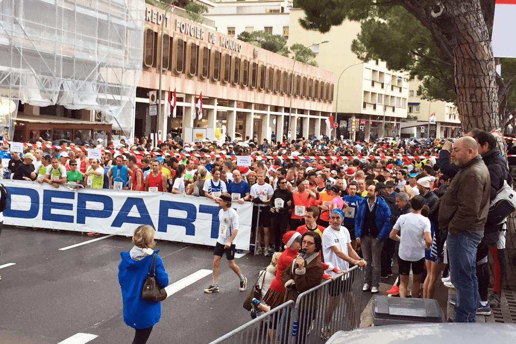 Забег U Giru de Natale в Монако