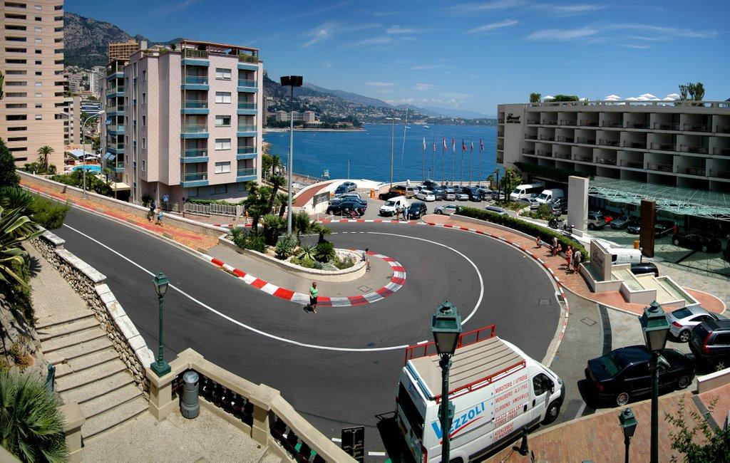 Дороги в Монако
