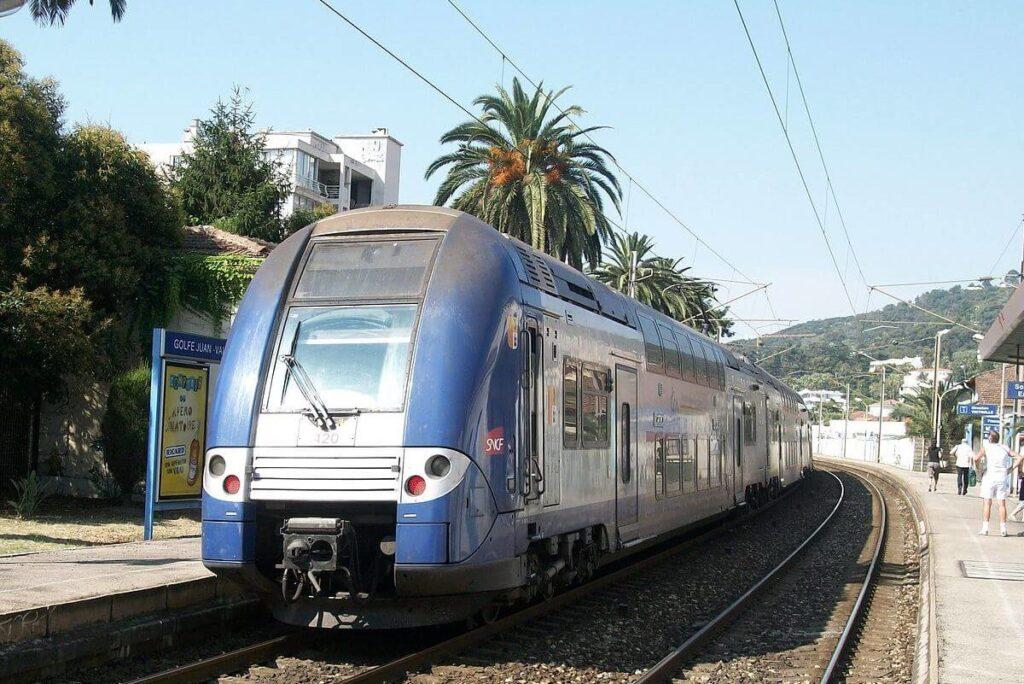 Поезда TER в Монако