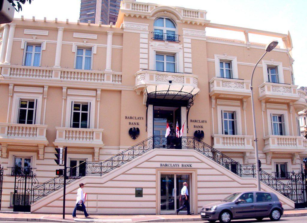 Банк Barclays в Монако