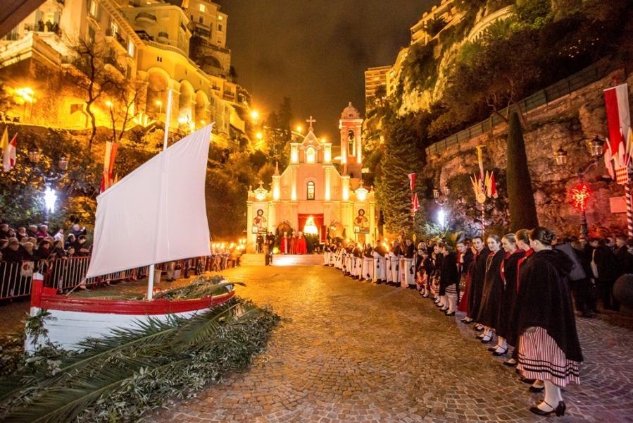 Праздник Святой Девоты в Монако